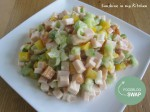 FBS: Gerookte kip salade
