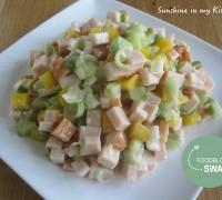 Gerookte kip salade