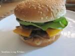 Dubbeldekker hamburger